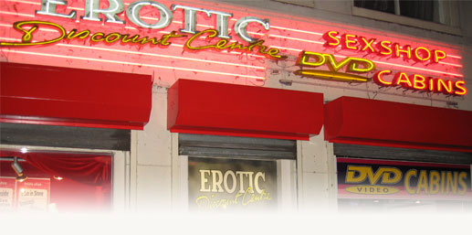 Sex Shops en Amsterdam