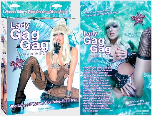 Muñeca hinchable Lady Gaga
