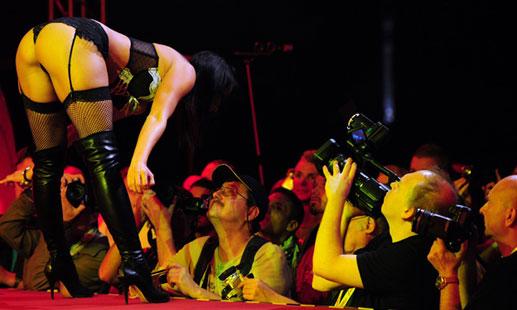 Stripper en el festival Venus Berlin