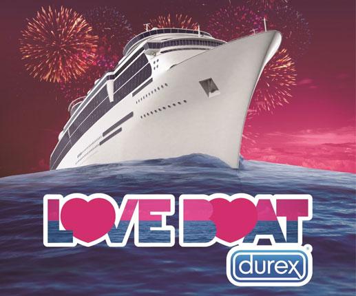 Barco del amor Durex