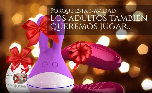 Regalos y juguetes eróticos para navidad